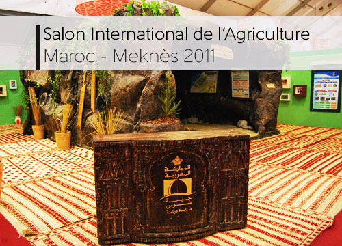 Salon international de l'agriculture 2011 - meknes