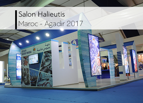 Salon halieutis _ Agadir 2017